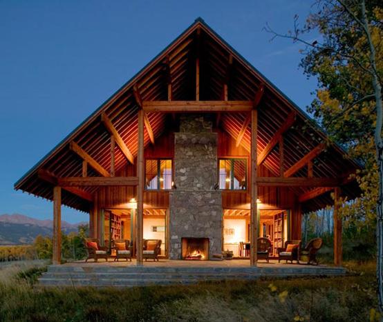 Коттеджи из дерева фото - Коттеджи под ключ по немецкой технологии, деревянные дома из